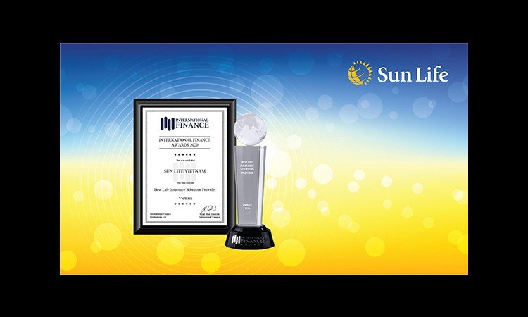 Sun Life Việt Nam khẳng định chất lượng sản phẩm và dịch vụ khi lần thứ 4 liên tiếp nhận giải thưởng từ Tạp chí Tài chính Quốc Tế