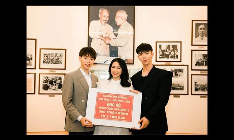Hòa Minzy ủng hộ 100 triệu đồng chống dịch ở quê nhà