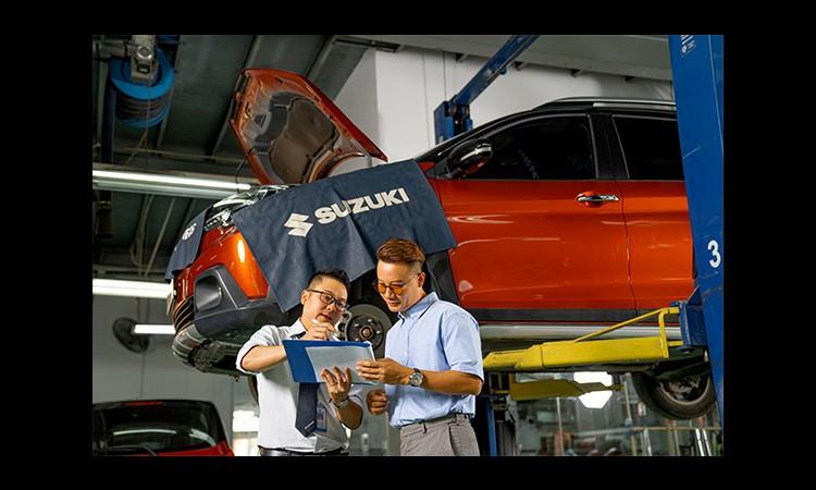 Lý do lượng xe Suzuki bán ra bị giới hạn trong tháng 4?