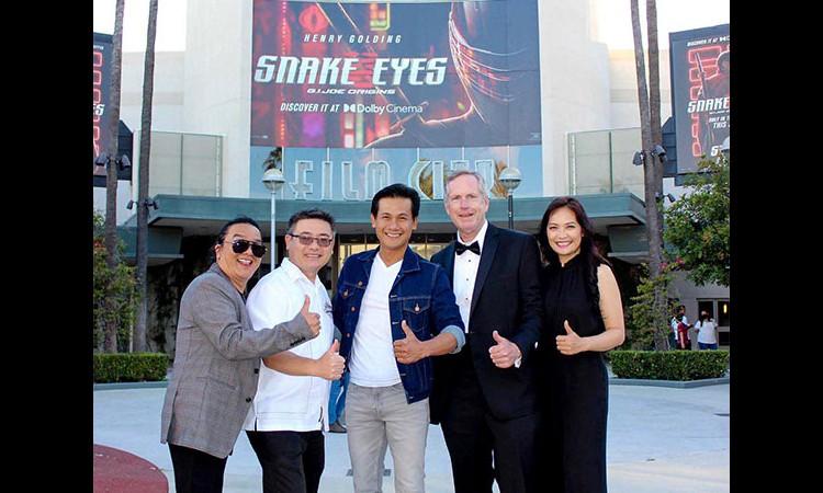 Ngài thị trưởng California Mỹ dành lời khen ngợi phim của Lý Hải