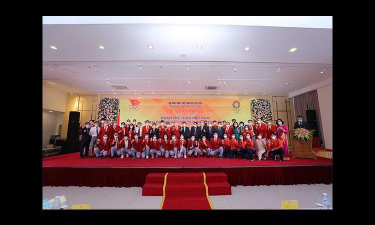 Herbalife Nutrition và VOC tổ chức Lễ xuất quân cho Đoàn thể thao Việt Nam tham dự Olympic Tokyo 2020