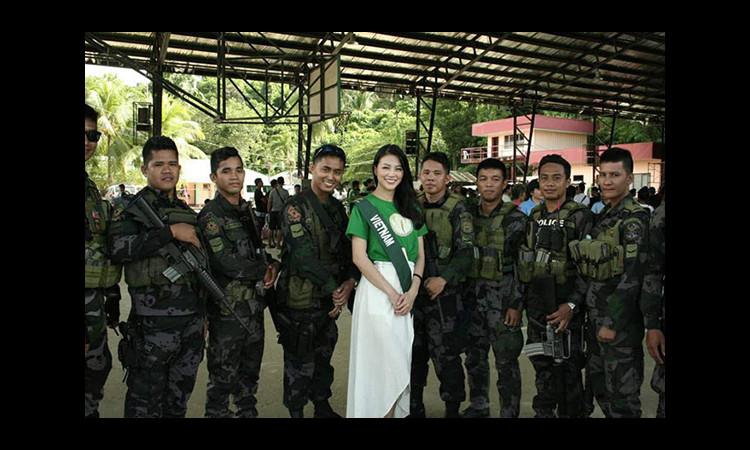 Phương Khánh sốt cao trước đêm chung kết Miss Earth