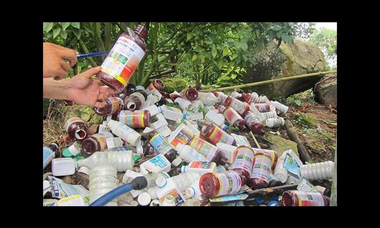 Bể chứa rác cho khu vực ngoại thành