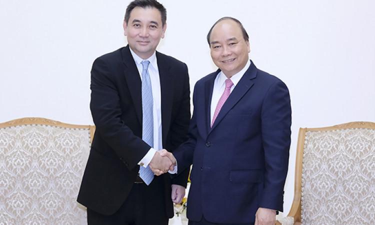 Thủ tướng tiếp một số doanh nghiệp nước ngoài