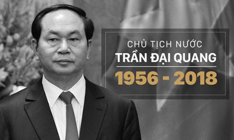 Tổ chức quốc tang Chủ tịch nước Trần Đại Quang trong 2 ngày