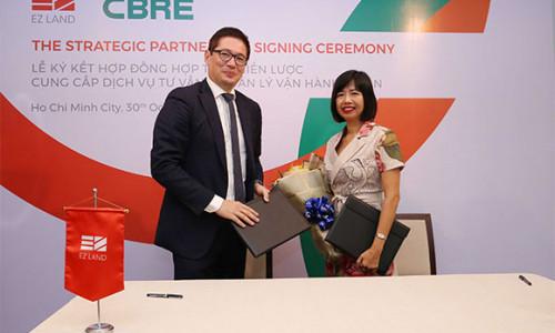 CBRE được EZ Land lựa chọn là đơn vị quản lý vận hành dự án Hausneo