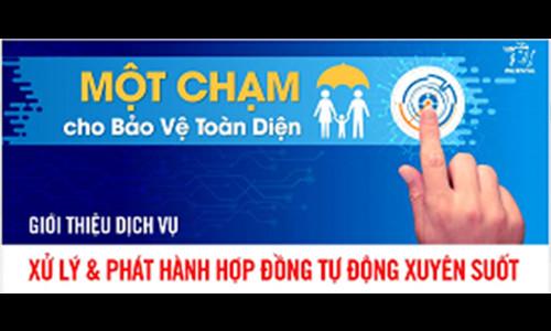 Prudential Việt Nam chính thức triển khai dịch vụ xử lý và phát hành hợp đồng tự động xuyên suốt