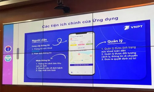 Chính thức ra mắt ứng dụng (app) khai báo y tế toàn dân để phòng chống dịch Covid-19