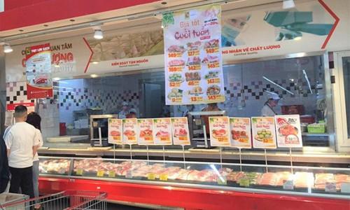 Hệ thống Big C đang triển khai chương trình bình ổn giá thịt lợn