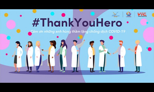 TikTok phát động Chiến dịch #ThankYouHero, kêu gọi người dùng gửi lời tri ân đến đội ngũ y, bác sĩ và cán bộ y tế đang chiến đấu chống COVID-19 tại Việt Nam