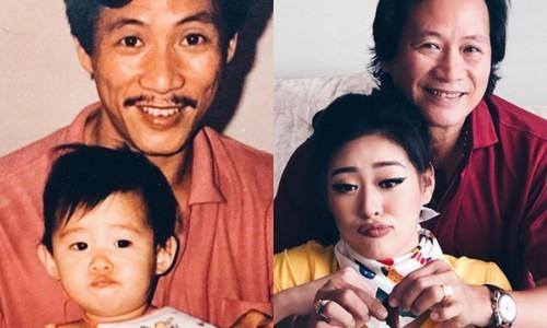 Hoa hậu Khánh Vân đăng ảnh chụp chung với bố sau 24 năm