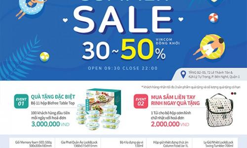Lock&Lock Vincom Đồng Khởi tung khuyến mãi cực hấp dẫn đến 50%