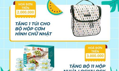 Lock&Lock Vincom Đồng Khởi tưng bừng với chương trình Summer Sale ưu đãi lên đến 50% từ ngày 25-26/7/2020