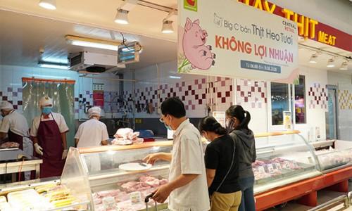 Một hệ thống siêu thị bán thịt lợn tươi không lợi nhuận