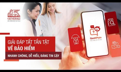 """Generali ra mắt tính năng hỏi đáp về bảo hiểm """"GenXPlain"""" cùng nhiều tiện ích mới cho hơn 5 triệu người dùng GenVita"""