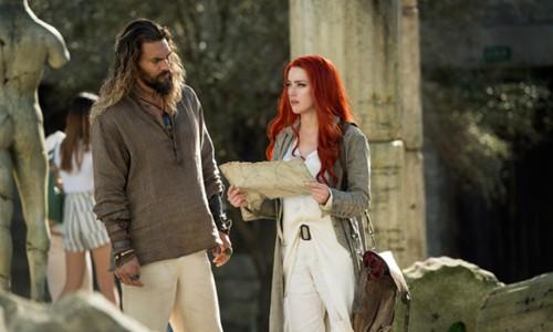Amber Heard khó bị loại khỏi 'Aquaman 2'