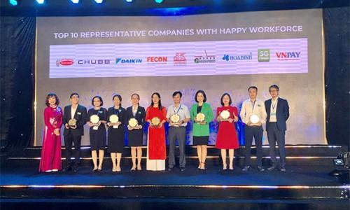 Generali Việt Nam lọt vào Top 10 Doanh nghiệp tiêu biểu có Nguồn nhân lực Hạnh phúc