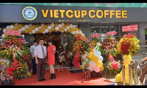 Vietcup mô hình nhượng quyền khởi nghiệp thu hút giới trẻ làm giàu