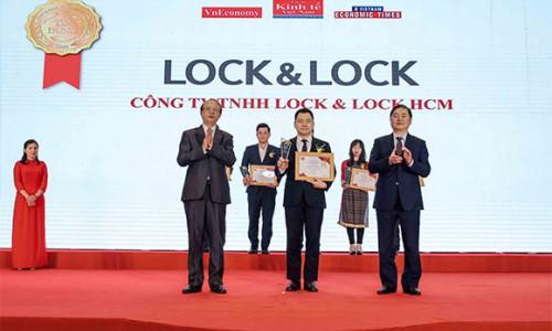 Lock & Lock lọt Top 10 sản phẩm – dịch vụ tin dùng Việt Nam 2020