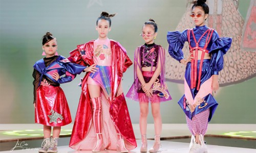 """Sena Minh Anh đoạt danh hiệu """"Thí sinh xuất sắc nhất mùa giải"""" cuộc thi Nhà thiết kế tương lai Nhí"""