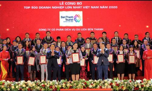 BenThanh Tourist cùng lúc nhận 2 giải thưởng lớn