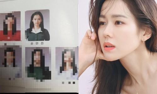 Hình ảnh thời đi học của Son Ye Jin