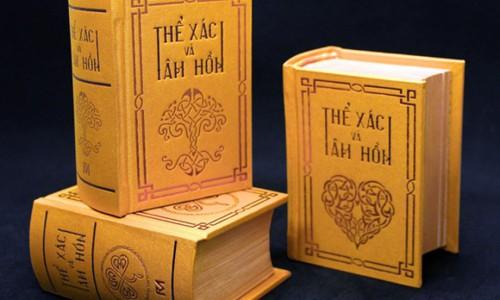Sách 'Thể xác và tâm hồn' có phiên bản nhỏ như bàn tay