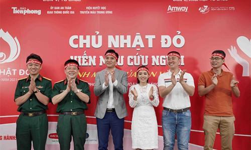 Amway Việt Nam tiếp tục đồng hành cùng Chương trình hiến máu Chủ nhật đỏ lần XIII – năm 2021