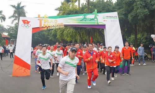 Herbalife Việt Nam đồng hành cùng Tổng cục TDTT vinh danh VĐV, HLV tiêu biểu 2020 và tổ chức Ngày chạy Olympic vì sức khỏe toàn dân