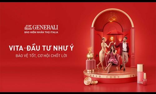 """Generali ra mắt sản phẩm đặc biệt """"VITA – Đầu Tư Như Ý"""" với nhiều quyền lợi và đặc tính vượt trội nhân dịp kỷ niệm 10 năm thành lập tại Việt Nam"""