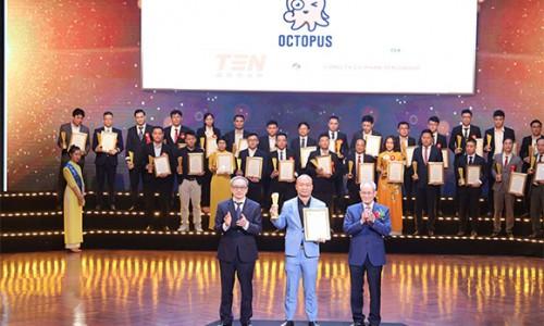 Phần mềm quản lý hoạt động marketing - OCTOPUS của TEN Group Software được vinh danh tại Giải thưởng Sao Khuê 2021