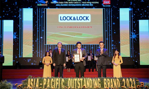 Lock&Lock lọt Top 10 thương hiệu tiêu biểu châu Á- Thái Bình Bương 2021