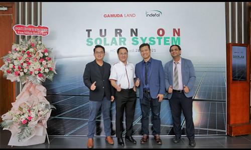 Gamuda Land ứng dụng hệ thống năng lượng mặt trời vào khu đô thị Celadon City