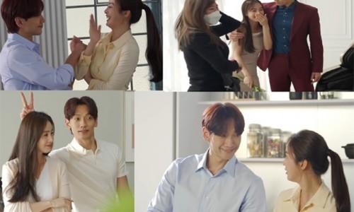 Ảnh hậu trường của Bi Rain - Kim Tae Hee