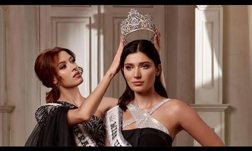 Hoa hậu Ukraine không nhận được sự quan tâm khi đi thi Miss Universe