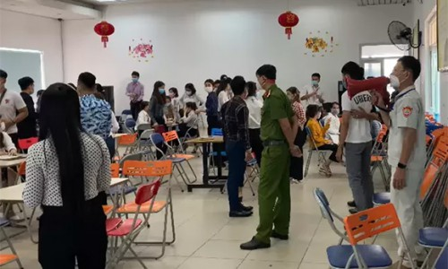 Đà Nẵng: Hơn 100 người tụ tập tại văn phòng công ty bán hàng giữa mùa dịch