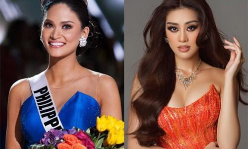 Hoa hậu Pia Wurtzbach thắc mắc lượng vote của Khánh Vân