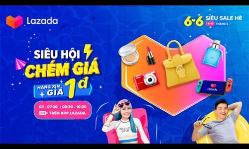 """Hàng triệu ưu đãi hấp dẫn đang chờ người tiêu dùng tại Lễ hội mua sắm 6.6 """"Ở nhà, săn hàng sale"""" của Lazada Việt Nam"""