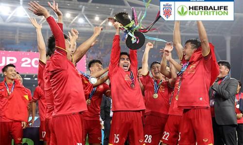 Herbalife Việt Nam chính thức trở thành nhà tài trợ đồng hành của AFF Suzuki Cup 2020