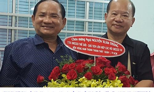 """Ths Nguyễn Hữu Nhơn chia sẻ về nghề báo trên Ấn phẩm Thế giới Doanh nhân Sao Việt"""""""
