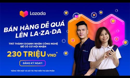 """Lazada ra mắt chương trình """"Bán hàng dễ quá – lên La-za-da"""" với 3 bước đăng ký dễ dàng để trở thành nhà bán hàng trên thương mại điện tử"""