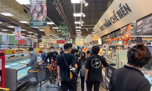 Một siêu thị tại TP HCM tạm dừng hoạt động do chưa bảo đảm phòng chống dịch