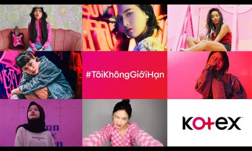 """Kotex khởi động chiến dịch """"Tôi Không Giới Hạn"""" hưởng ứng Ngày Quốc tế Con gái"""