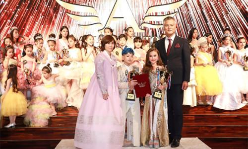 Hai tài năng nhí xuất sắc nhất giành chiến thắng cuộc thi Asia Next Top Kid Model 2019