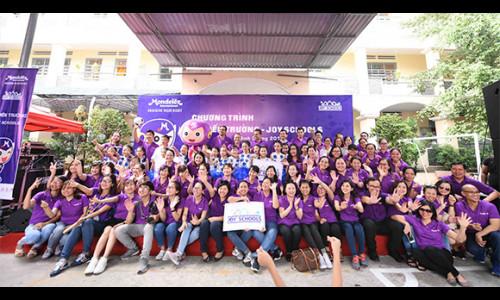 """Mondelez Kinh Đô Việt Nam và chương trình cộng đồng """"Vui Tới Trường"""" đầy ý nghĩa"""
