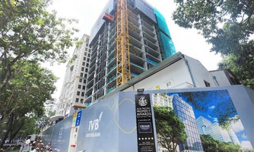 Coteccons cất nóc tòa nhà văn phòng Friendship Tower 21 tầng