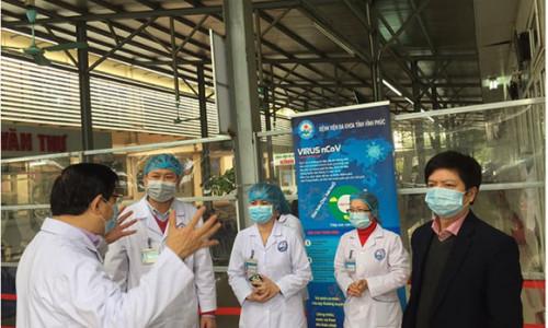 Bộ Y tế đưa tổ công tác đặc biệt xuống Vĩnh Phúc chống dịch