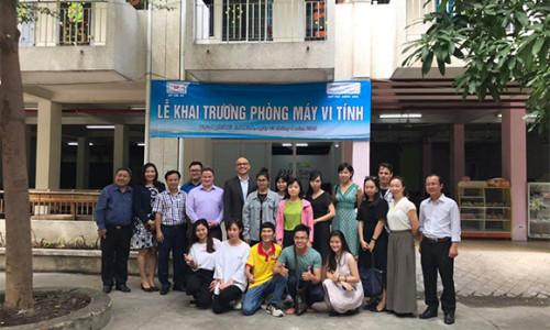 Savills Việt Nam và AMA Education Foundation triển khai các chương trình hỗ trợ giáo dục và hướng nghiệp dạy nghề cho sinh viên