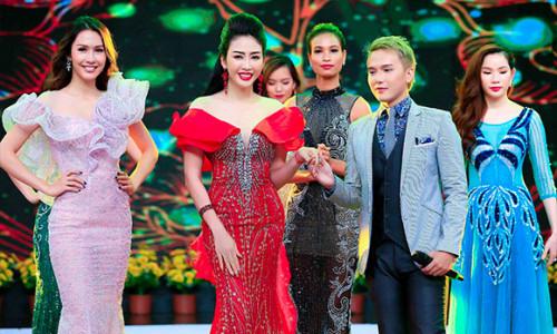 Doanh nhân gia đình: NTK Nhật Phượng khoe vẻ quyến rũ bên trai đẹp Khắc Minh