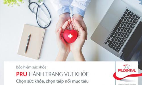 """Prudential Việt Nam ra mắt sản phẩm bảo hiểm bổ trợ bảo vệ sức khỏe mới """"Pru-hành trang vui khỏe"""""""